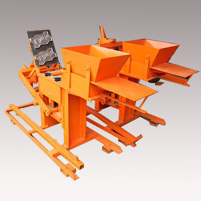 20 years experience cement manual paving block making machines, semi-automatic concrete block machine