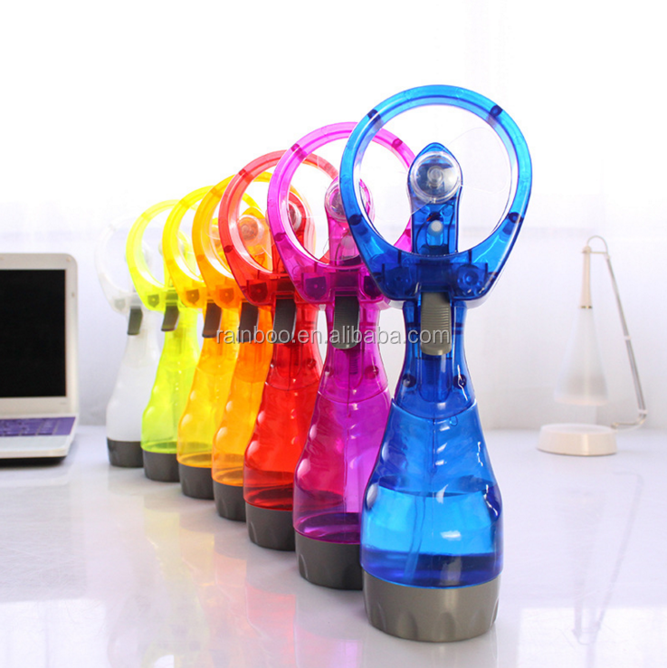 Wholesale custom portable water spray cooling fan water mist fan