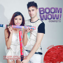 Boomwow Red Paper Streamer Confetti