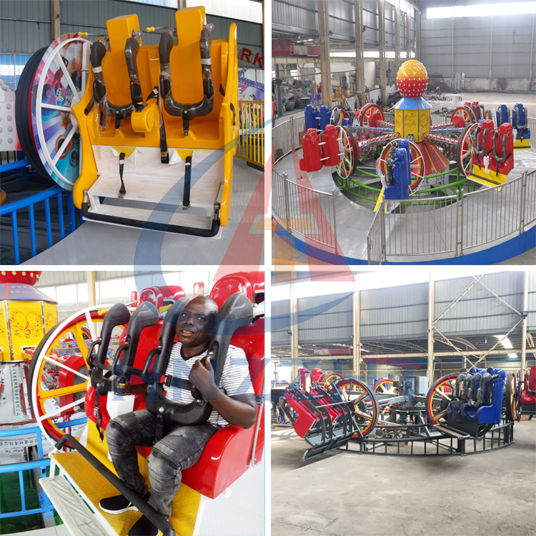 The most popular hot style in 2019  amusement family ride  rotary music bar  for kids and adults