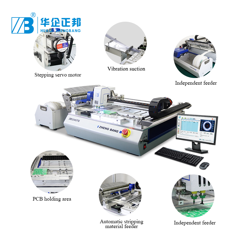 Automatische PCB Surface Mount Machine SMT LED Pick Plaats Machine