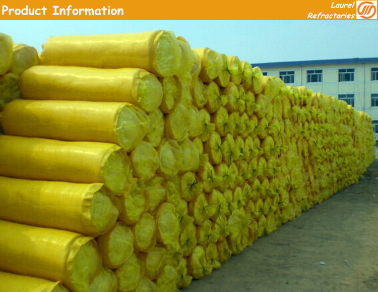 Glasswool  blanket with oneside aluminium foil 50mm 100mm