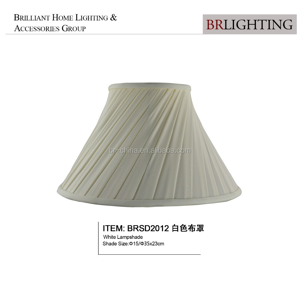 White wholesale cheap lamp shade for table lamp BRSD2012