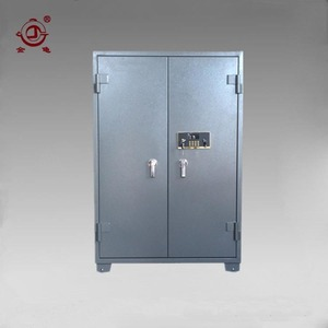 new large 2 doors mechanical key steel gun safe