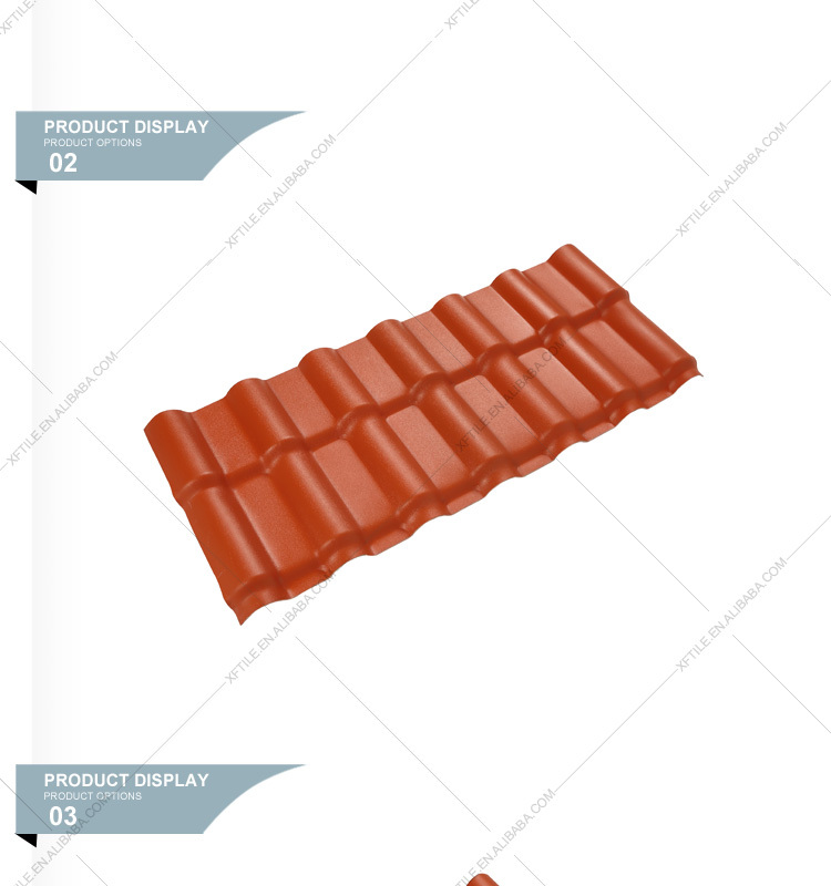 Tiki Bar Used Synthetic Resin Roof Sheet/china Build Materials Roof  Panel/color Corrugated