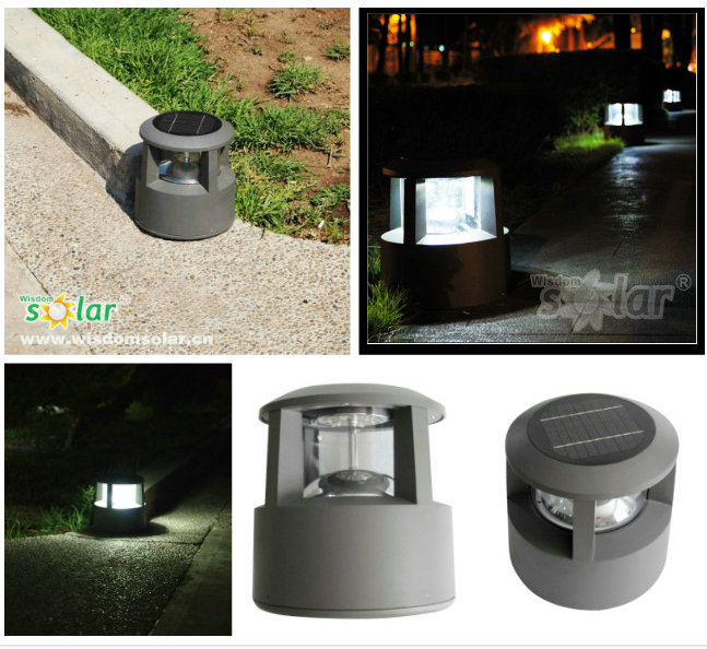 Solar Led Bollard Light,Solar Powered Garden Lights,Solar Bollard ...