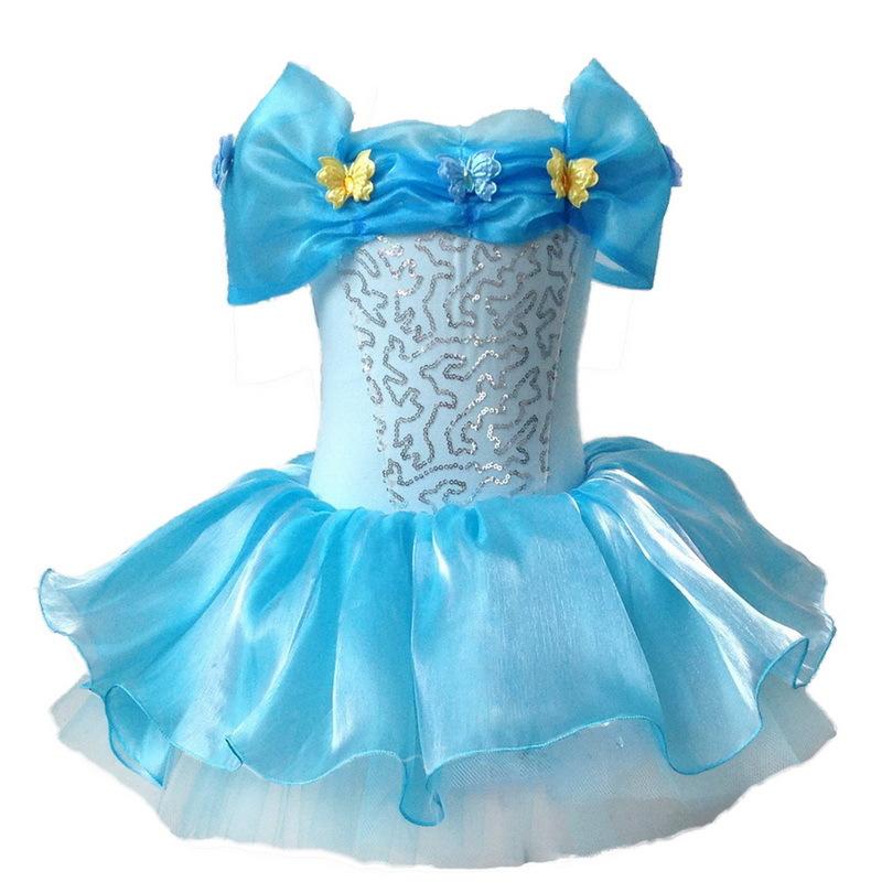 Wholesale Kid Grils Cinderella Cosplay Ballet Tutu Dancewear font b Fancy b font font b Dresses