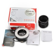 Aputure Brand Hot Selling Camera Macro Ring Flash for Nikon and Canon Olympus and Panasonic DSLR
