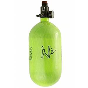 Ninja Carbon Fiber HPA Tank - SUPERLIGHT / SL - 68/4500 - Lime