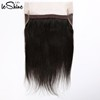 Wholesale 100% Cuticle Aligned Virgin Remy Straight Hair Silk Lace Closure 360 Frontal Wigs