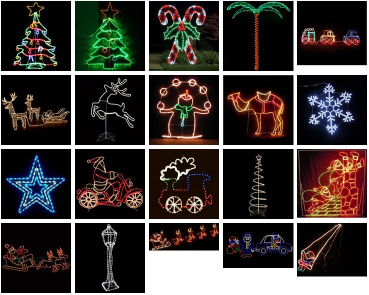 Kerst Moving Verlichte Rendier En Slee Voor Kerst Decoratie - Buy ...