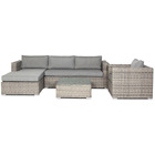 High quality Outdoor Sofa Outdoor Rattan beautiful 5 seater Sofa Set Rattan Furniture