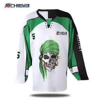 Custom fashionable aggressive inline hockey jersey with 100% polyester  sublimation 5a71fd541b5