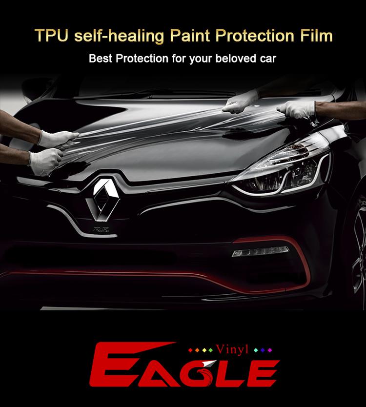 Selbstklebender PPF-Film mit selbstheilender Beschichtung Vinyl Car Wraps Schutzfilm TPU-Autolack-Schutzfilm