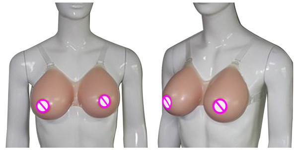 ONEFENG Sexy Silicone Breast Forms Crossdressing Teardrop Shape Artificial Boobs