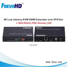 4K HDCP2.2 HDMI2.0 IP Balun support SPDIF 5.1 and L/R analog audio embedded