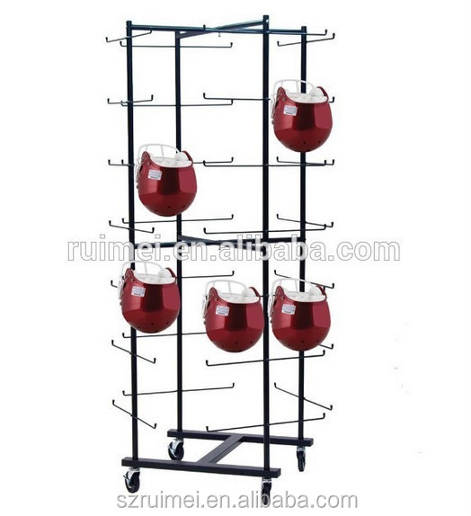 multi tier free stand with wheels motorcycle helmet stand buy motorcycle helmet stand helmet. Black Bedroom Furniture Sets. Home Design Ideas