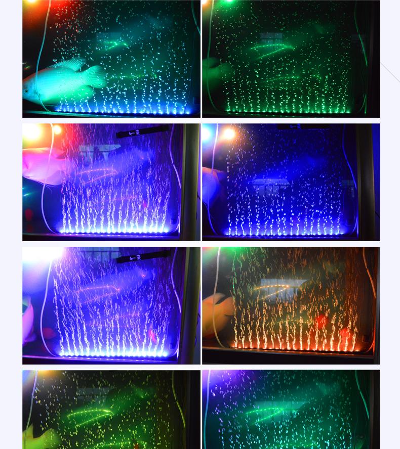 12v 10.9w Rgb Fish Tank Diy Aquarium Moonlight Led Aqurium Light ...