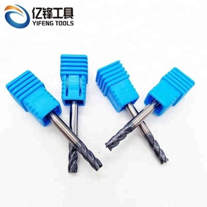 Manufacturer Supply High Quality Solid Carbide 2-4 Flutes End Mill Carbide Milling Cutter