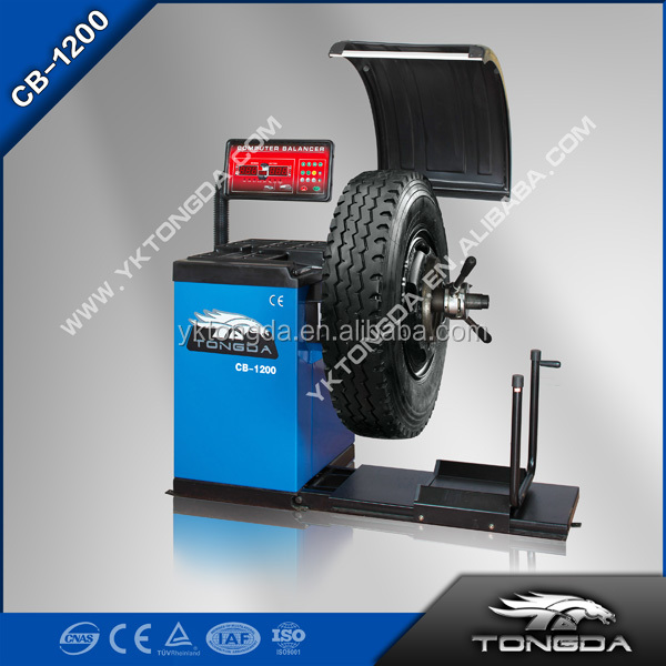 Ce Wheel Balancer Tongda CB1200 Large tire wheel balancer with Belt Security and stability