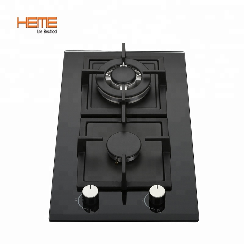Kitchen appliance gas cooker stove 2 burner slim gas stove/gas cooker/gas cooktop(PG3021BG-BCB)