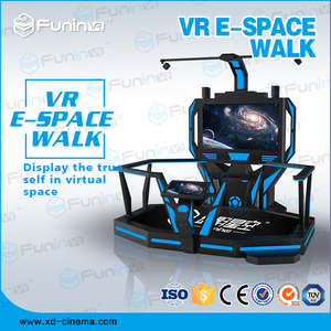 2018 new arrival interactive vr space walk 9d vr simulator