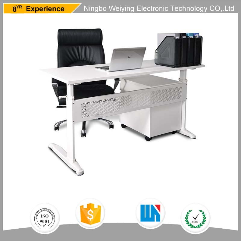 Luxury Executive stand up adjustable height corner office desk