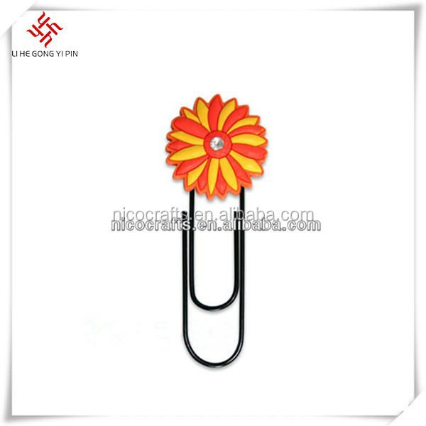 Flower Shape customized bookmark
