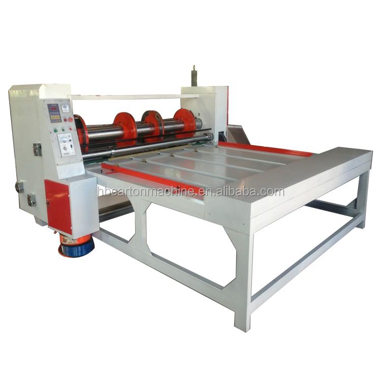 Corrugated Cardboard Making Machine/carton Box Making Machine/rotary Slotter