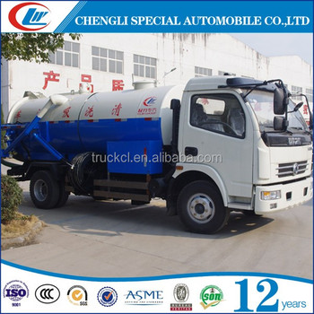 Clw High Pressure Sewage Fecal Suction Tanker Truck Cesspool Emptier Truck  For Sale - Buy Cesspool Emptier Truck,Fecal Suction Tanker Truck,Cesspool