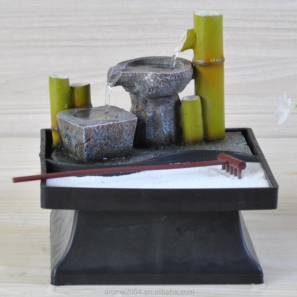 Delightful Tabletop Zen Garten Innen Japanischen Brunnen
