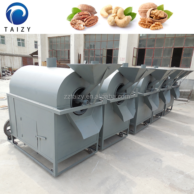 widely used in food processing industry peanut roasting machine with best prices
