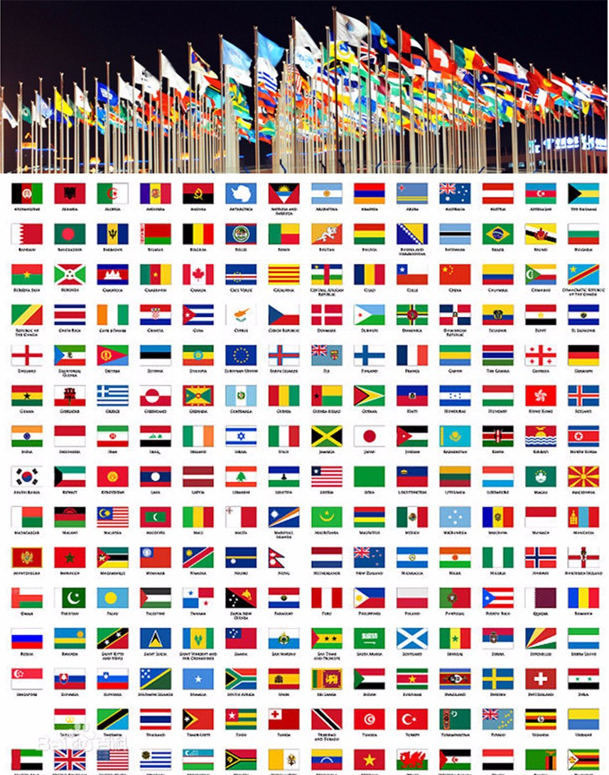 various types country flags flags for all countries american flag