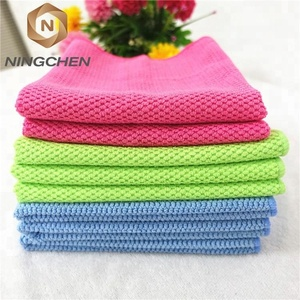 Promotional cheap hand terry microfiber towel/Professional Thicken Car Cleaning Kitchen Cleaning cloth, car towels