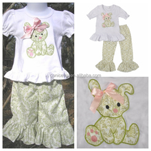 wholesale kids children little girls ruffle remake clothing Boutique outfits