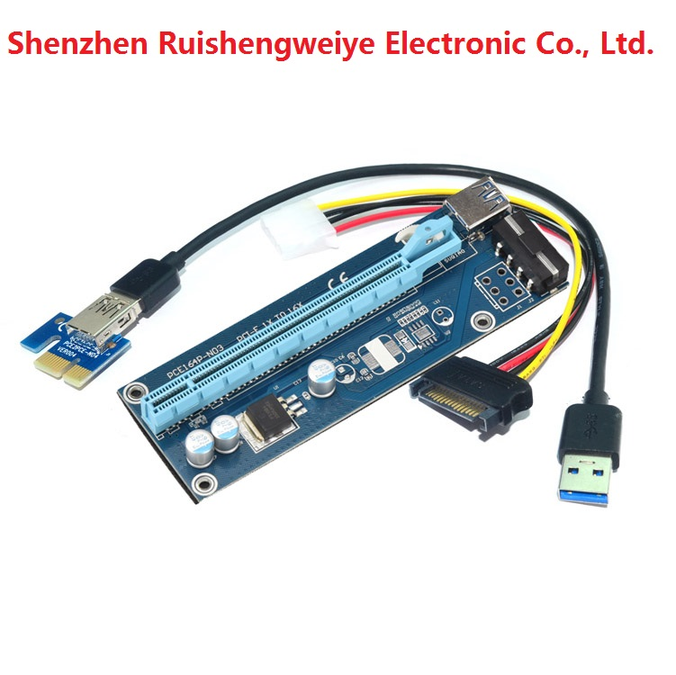 special deals pcie x1 male to pcie x16 riser card
