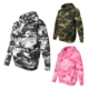 Anti-pilling Wholesale Custom 100% Cotton Camo Hoodie Pullover With Hood Plain Unisex Camo Hoodie