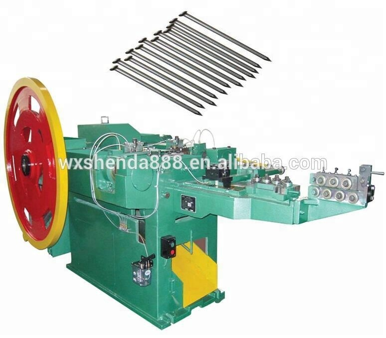 High Speed Low Noise Used Wire Enkotec Nail Making Machine