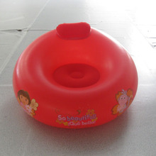 ICTI Approved Professional Adult and Kids Promotional Phthalate Free ASTM EN71 PVC Red Kids Inflatable Furniture