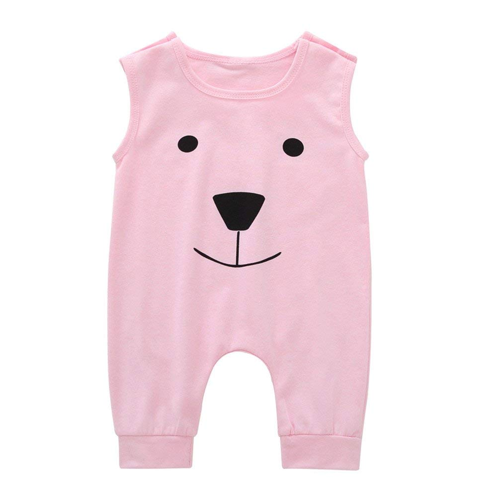 1a53c9c58cf Get Quotations · OVERMAL Baby Rompers Overmal Infant Baby Girls Boys  Cartoon Bear Jumpsuit Romper Jumpsuit Outfits Clothes