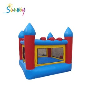 Mini inflatable bouncer, inflatable bouncer castle for children