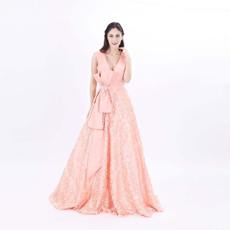 Vestidos de fiesta rosa clara venta online – Vestidos de noche ...