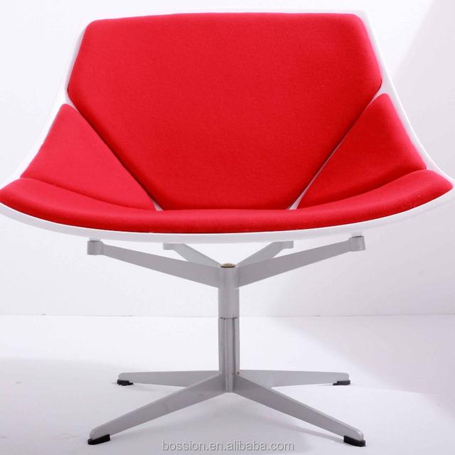 2017 Factory Supply Unique Shape Fibergl Leisure Chair