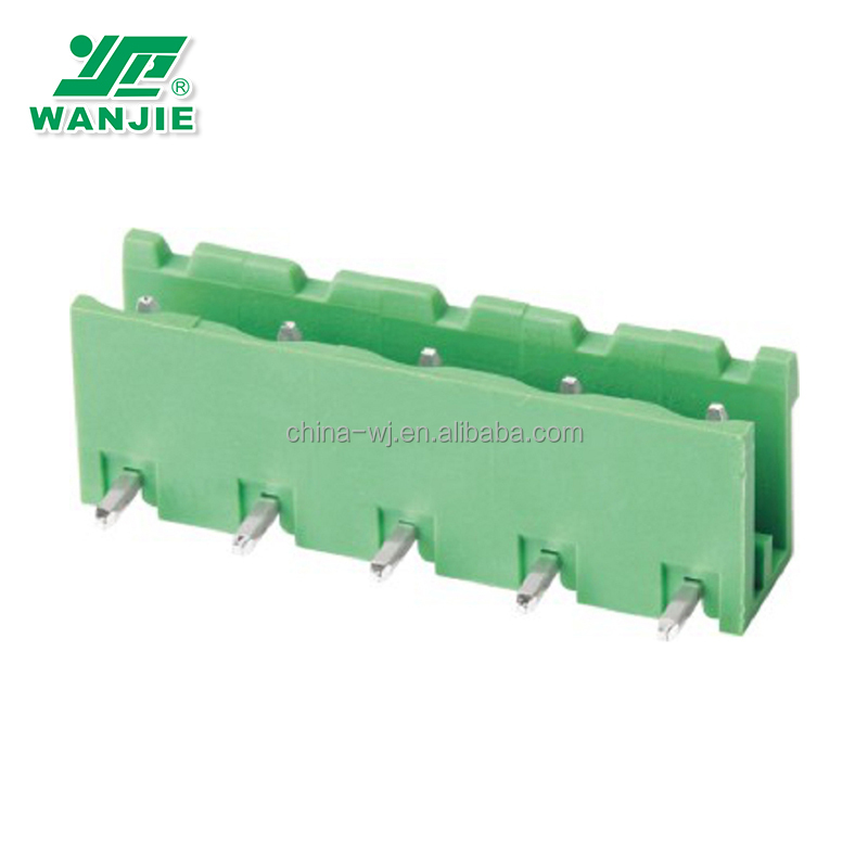 WANJIE High quality material unique processing technology electric pluggable plastic electrical wire connectors