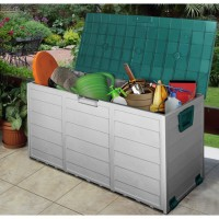 High quality plastic garden storage units sheds