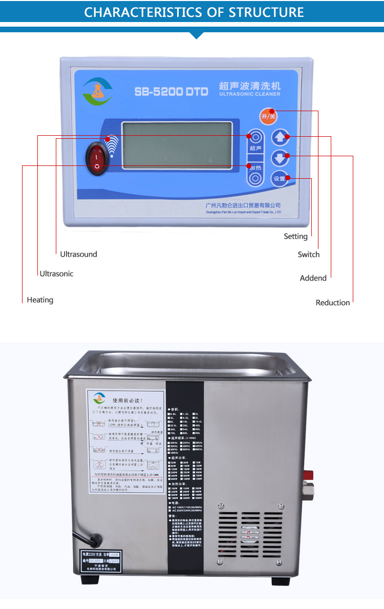Ultrasonic Cleaners Archives Pcb China 50w Piezoelectric Ceramic Transducer For Humidifier Circuit Working Hours Countdown Display 1 999min Total Time Setting Equipped With A Dedicated Stainless Steel Basket And Sound Cover
