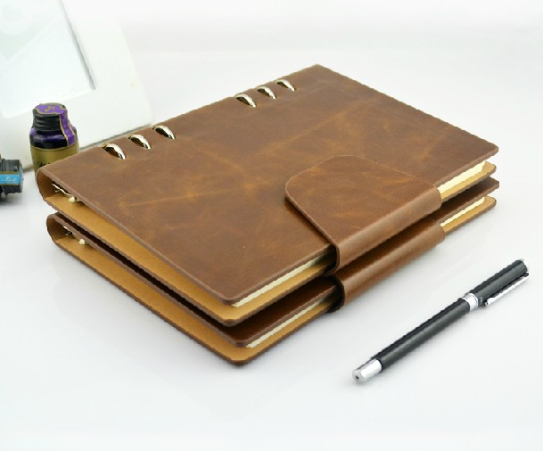 D Ring Leather Binders