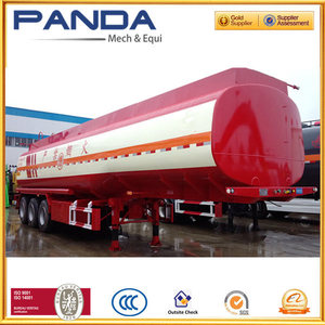 Three or four axles oil tank wagon for oil or any other liquid transportation