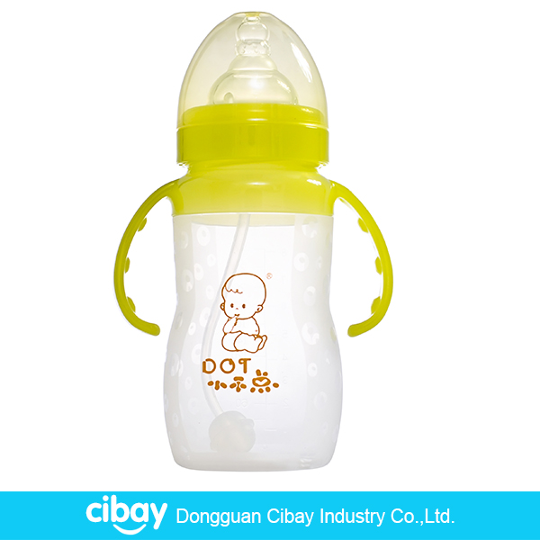 Silicone baby feeding bottle cover nipple straw