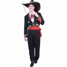<span class=keywords><strong>Carnaval</strong></span> party fancy dress volwassen man mexico kostuum voor <span class=keywords><strong>mannen</strong></span>